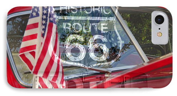 IPhone Case featuring the photograph Route 66 The American Highway by David Lee Thompson