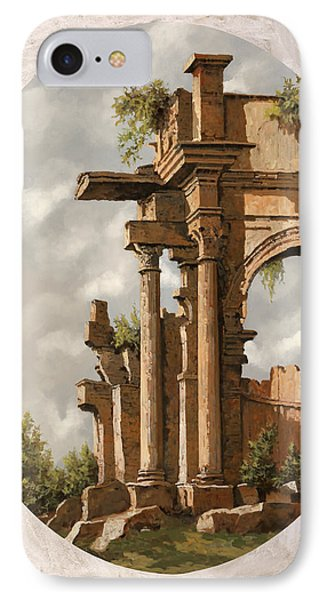 Rovine Romane IPhone Case by Guido Borelli