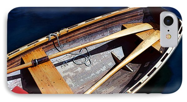 IPhone Case featuring the photograph Row Boat Red Rillow by Susan Parish