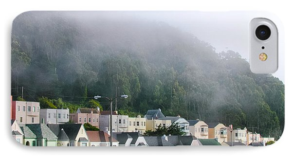 Row Houses In Fog IPhone Case
