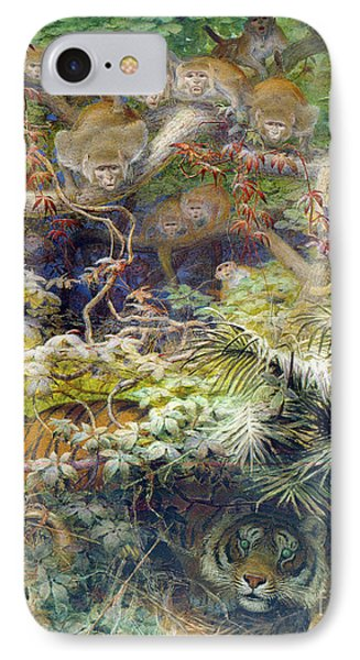 Row In The Jungle IPhone Case
