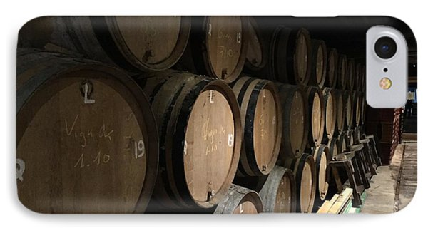 Row Of Barrels IPhone Case by Evan N