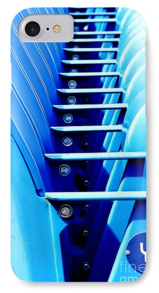 Row Of Stadium Seats IPhone Case by Nishanth Gopinathan