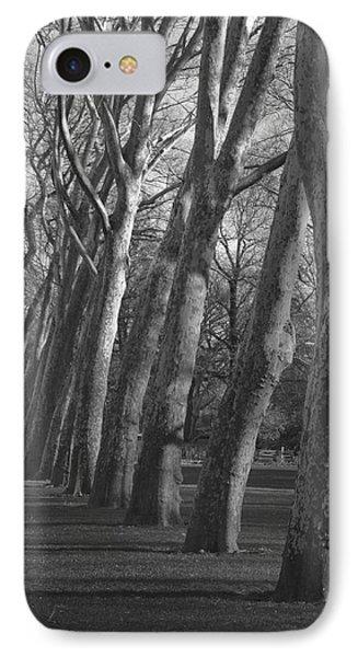 Row Trees IPhone Case