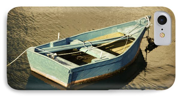 Rowboat At Twilight IPhone Case by Mary Machare