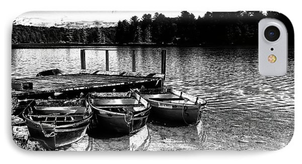 IPhone Case featuring the photograph Rowboats At The Dock 2 by David Patterson