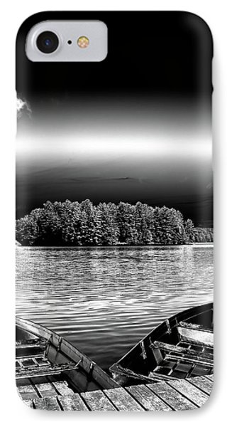 IPhone Case featuring the photograph Rowboats At The Dock 3 by David Patterson