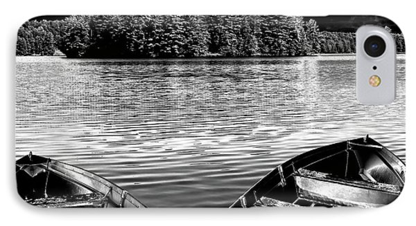 IPhone Case featuring the photograph Rowboats At The Dock 4 by David Patterson