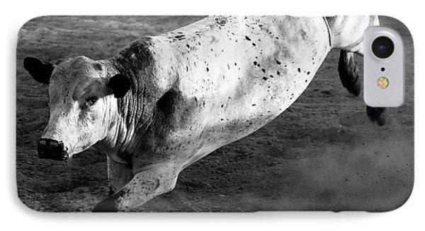 Rowdy Bucking Bull IPhone Case