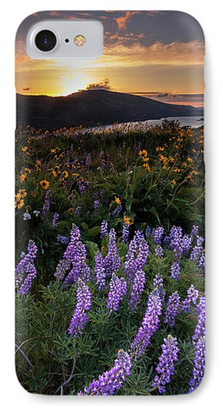 IPhone Case featuring the photograph Rowena  Dawn by Mike Lang