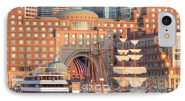 Rowes Wharf IPhone Case by Susan Cole Kelly