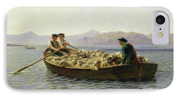 Rowing Boat IPhone Case by Rosa Bonheur