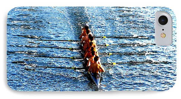 Rowing In Phone Case by David Lee Thompson