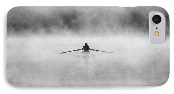 Rowing On The Chattahoochee IPhone Case