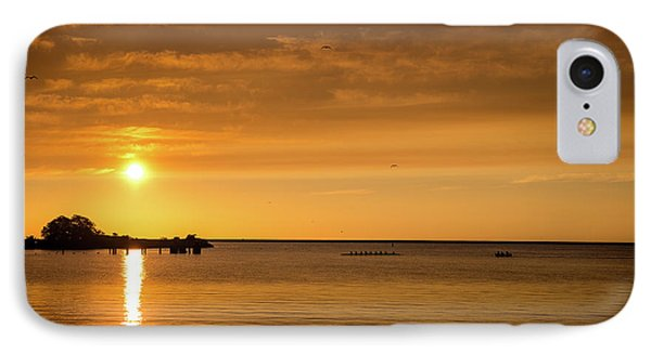 IPhone Case featuring the photograph Rowingteam by Onyonet  Photo Studios