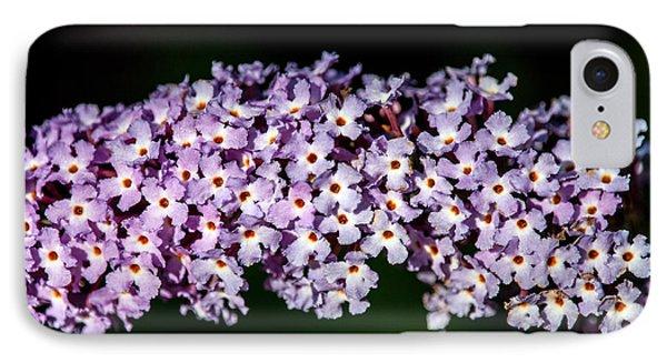 Rows And Flows Of Angel Flowers Phone Case by John Haldane