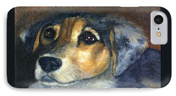 IPhone Case featuring the painting Roxie by Gail Kirtz