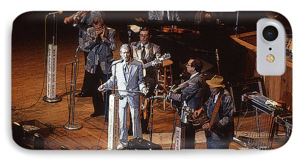 IPhone Case featuring the photograph Roy Acuff At The Grand Ole Opry by Jim Mathis