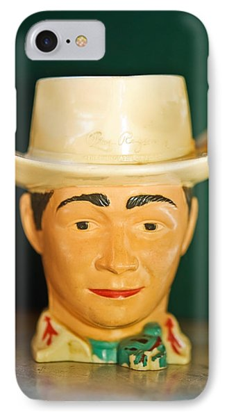 Roy Rogers Cup IPhone Case by Susan Leggett