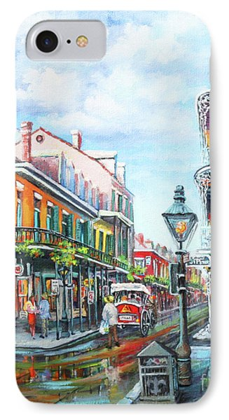 IPhone Case featuring the painting Royal Balconies by Dianne Parks