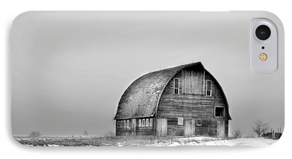 Royal Barn Bw IPhone Case by Bonfire Photography