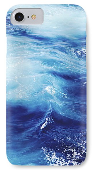 Royal Blue IPhone Case by Clem Onojeghuo