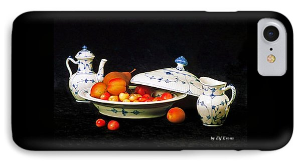 Royal Copenhagen And Fruits IPhone Case