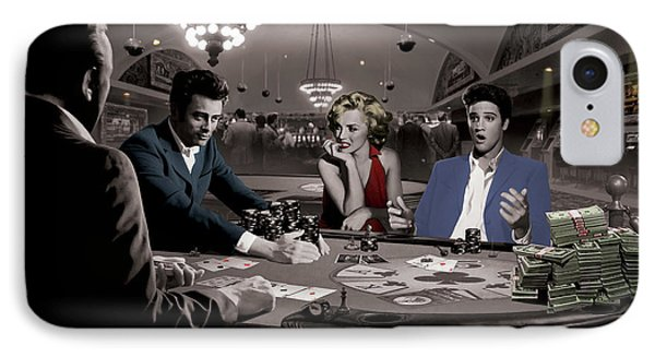 Royal Flush IPhone Case by Chris Consani
