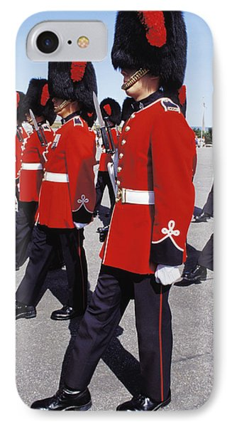 Royal Guards In Ottawa IPhone Case by Carl Purcell