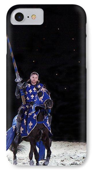 Royal Knight  IPhone Case by Art Spectrum