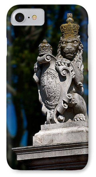 Royal Lion Phone Case by Christopher Holmes