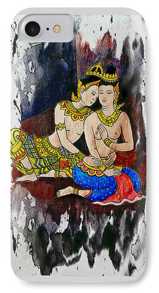 Royal Lovers Of Siam  IPhone Case by Ian Gledhill