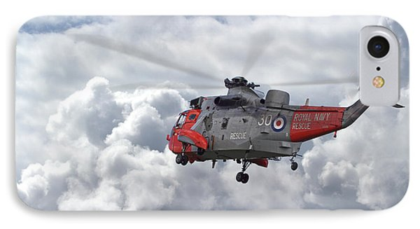 IPhone Case featuring the photograph Royal Navy - Sea King by Pat Speirs