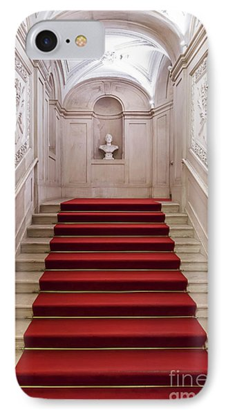 Royal Palace Staircase IPhone Case by Jose Elias - Sofia Pereira