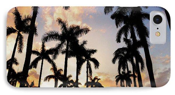 Royal Palm Way IPhone Case