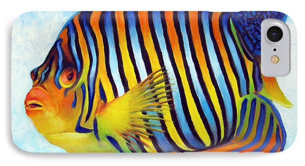 Royal Queen Angelfish IPhone Case