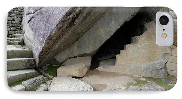 Royal Tomb, Machu Picchu, Peru IPhone Case by Aidan Moran