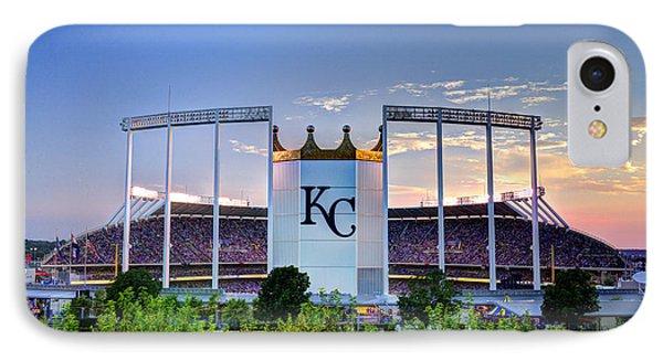 Royals Kauffman Stadium  IPhone Case