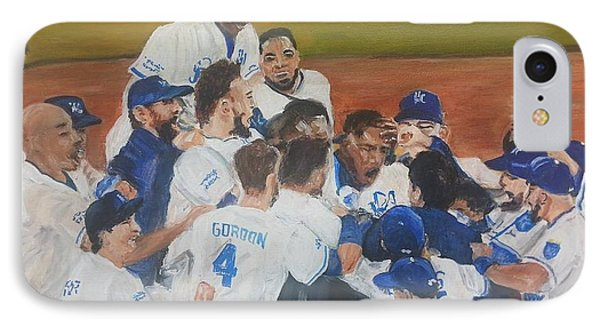 Royals Win IPhone Case by Patricia Olson