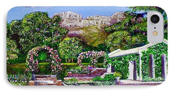 Rozannes Garden Phone Case by Michael Durst
