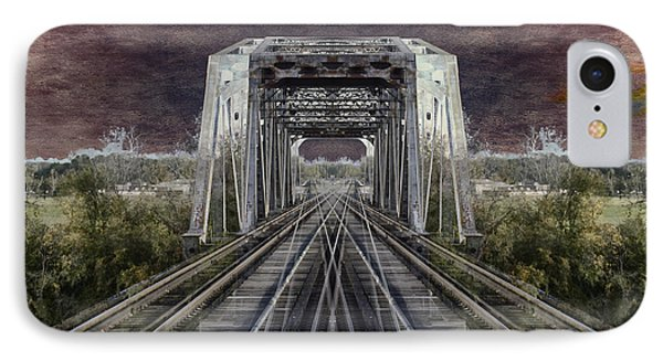 Rr Bridge Textured Composite IPhone Case by Thomas Woolworth