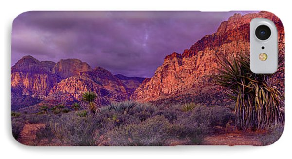Red Rock Canyon IPhone Case by Mikes Nature