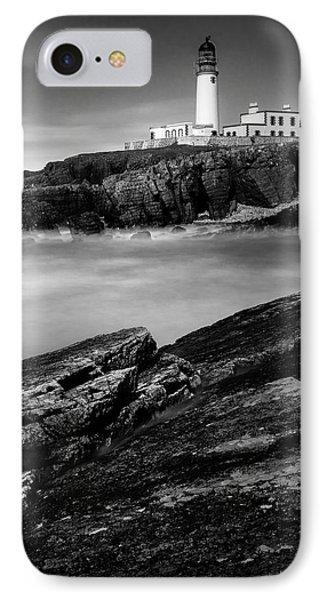 Rua Reidh Lighthouse IPhone Case by Dave Bowman