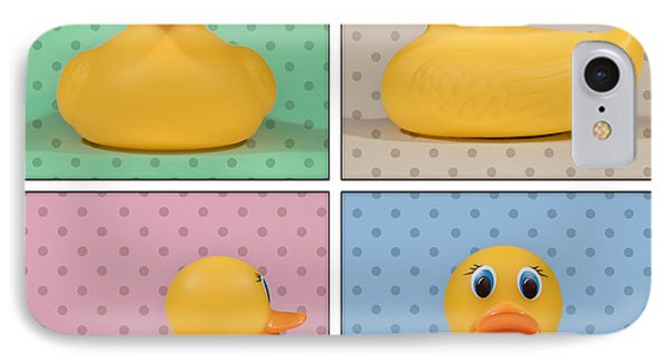 Rubber Ducky IPhone Case by Scott Norris
