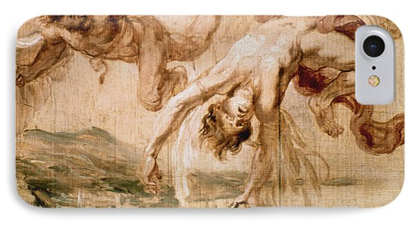 Rubens:fall Of Icarus 1637 Phone Case by Granger