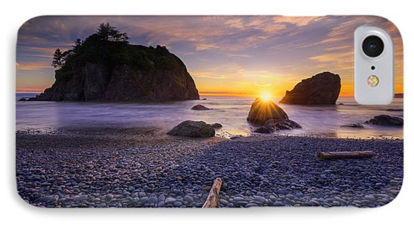 IPhone Case featuring the photograph Ruby Beach Dreaming by Dan Mihai
