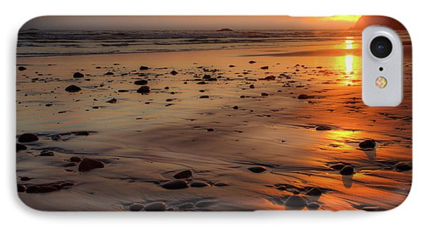 Ruby Beach Sunset IPhone 7 Case by David Chandler