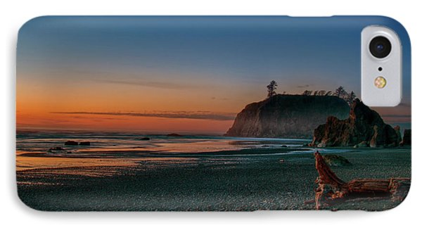 IPhone Case featuring the photograph Ruby Beach Sunset by Mary Jo Allen