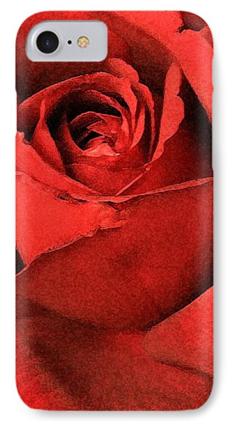Ruby Rose Phone Case by Marna Edwards Flavell