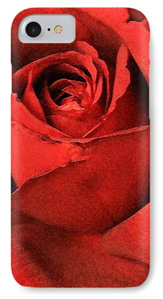 Ruby Rose IPhone Case by Marna Edwards Flavell